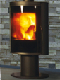 WOOD STOVES Nara Noir Mat
