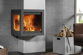 po les bois tornado straight fonte flamme. Black Bedroom Furniture Sets. Home Design Ideas