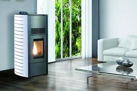poele a pellet fonte flamme. Black Bedroom Furniture Sets. Home Design Ideas